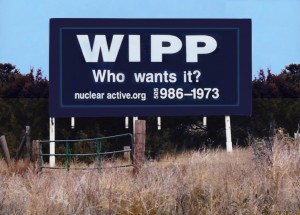 WIPP Billboard 1998 © s.westerly